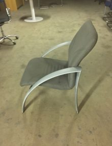 Used Grey Waiting Room Chairs