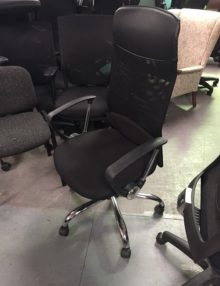 Used High Back Mesh Operator Chairs