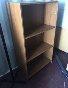 Used Light Walnut Bookcase