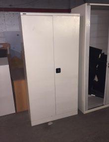Used Metal GoSteel Storage Cupboard