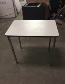Used Small White Tables