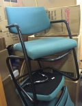 Used Teal Visitor Cantilever Set