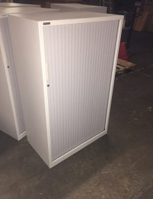 Used Triumph Single Door Tambour Cabinets