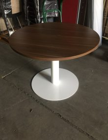 Used Walnut 1200mm Round Table
