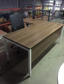 Used Walnut Executive Office Package