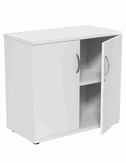 White 770mm Storage Cupboard