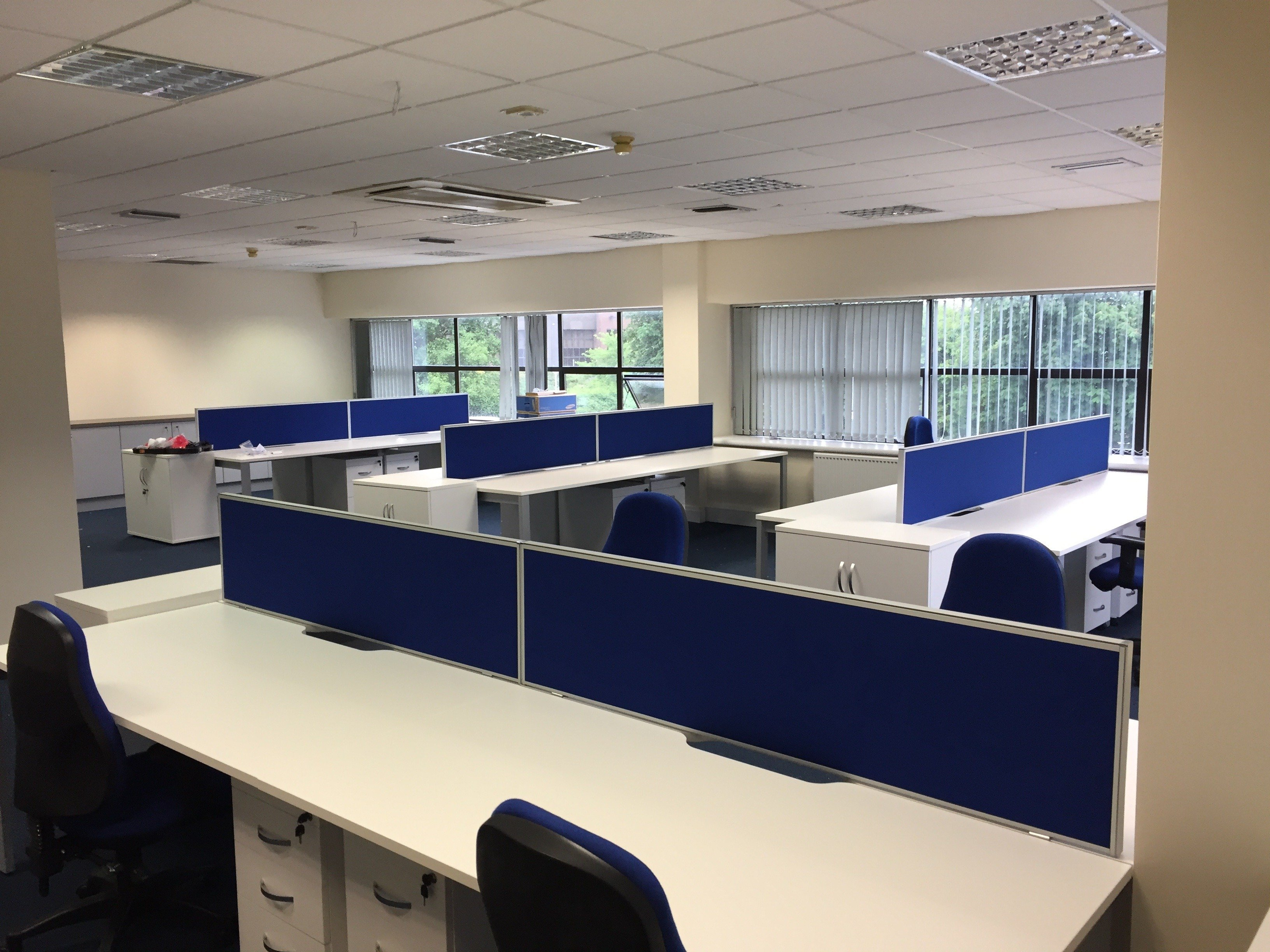 white walnut office furniture. White Office Furniture Fit Out Walnut E